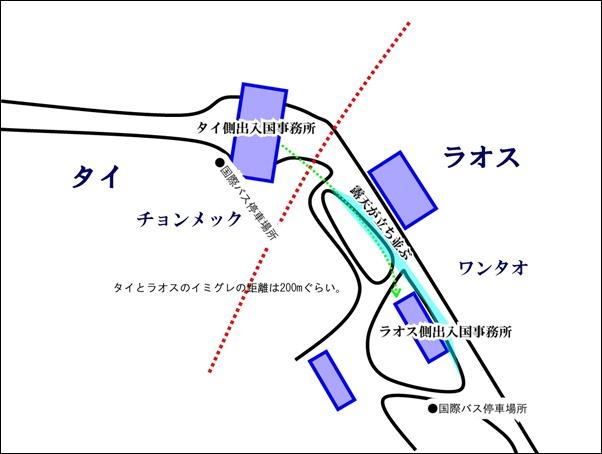 20120506_チョンメック国境の地図