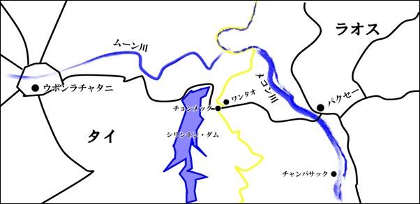 20120507_ウボン・パクセー地図