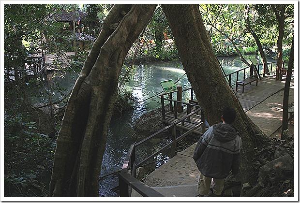 Tham Pla (Fish Cave), Mae Hong Son, Thailand