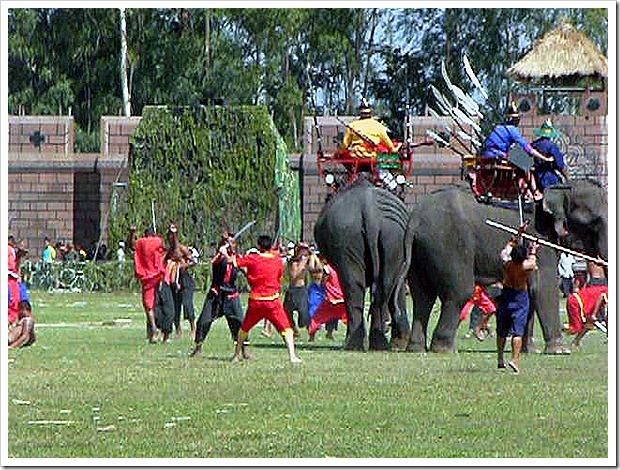 スリンの象祭りの旅(2005/11/19)